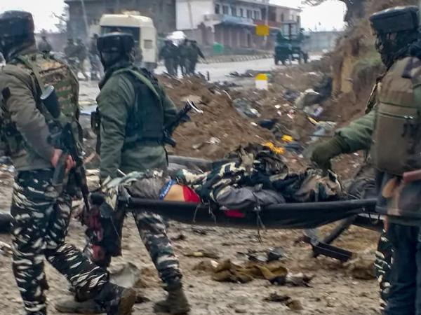 Image result for Pulwama attack 2019